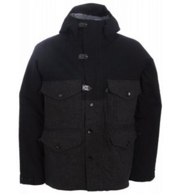 Burton Woolie Snowboard Jacket True Black
