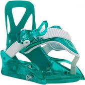 Burton Youth Grom Snowboard Binding (SEA GLASS GREEN, YTH)