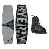 Byerly Conspiracy Wakeboard With Hyperlite Frequency Bindings