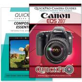Canon 20D DVD 2 Pack Composition Instructional Manual Bundle