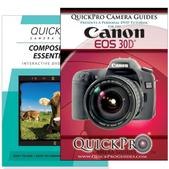 Canon 30D DVD 2 Pack Composition Instructional Manual Bundle