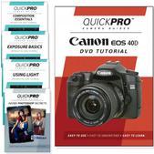 Canon 40D DVD 5 Pack Intermediate Plus Instructional Bundle