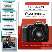 Canon 50D DVD 5 Pack Intermediate Plus Instructional Bundle