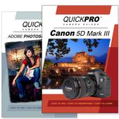Canon 5D Mark III DVD 2 Pack Adobe Instructional User Manual Bundle