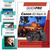 Canon 5D Mark III DVD 4 pack Intermediate Instructional Manual Bundle