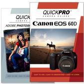 Canon 60D DVD 2 Pack Adobe Instructional User Manual Bundle