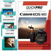 Canon 60D DVD 4 pack Intermediate Instructional Manual Bundle