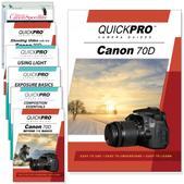 Canon 70D 7PK DVDs Motion and Light Plus Fundamentals Training Bundle
