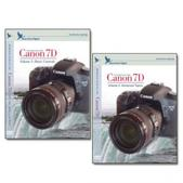 Canon DVD 7D 2 Pack Volume 1 & 2 Set Camera Training Video Guide by Blue Crane Digital