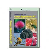 Canon DVD EOS Digital Rebel XT / 350D Camera Training Video Guide by Blue Crane Digital