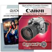 Canon Rebel XT DVD 2 Pack Adobe Instructional User Manual Bundle