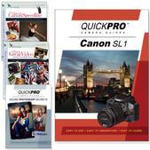 Canon SL1 4PK DVDs Motion and Light Plus Photoshop Training Bundle