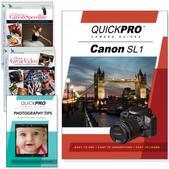 Canon SL1 4PK DVDs Motion and Light Plus Tips Training Bundle