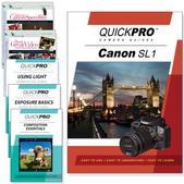 Canon SL1 6PK DVDs Motion and Light Plus Fundamentals Training Bundle
