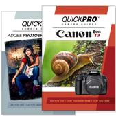 Canon T3 DVD 2 Pack Adobe Instructional User Manual Bundle