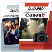 Canon T3i DVD 2 Pack Adobe Instructional User Manual Bundle