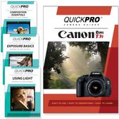 Canon T3i DVD 4 pack Intermediate Instructional Manual Bundle