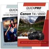 Canon T4i DVD 2 Pack Adobe Instructional User Manual Bundle