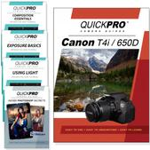 Canon T4i DVD 5 Pack Intermediate Plus Instructional Bundle