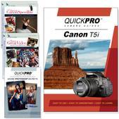 Canon T5i 4PK DVDs Motion and Light Plus Photoshop Training Bundle