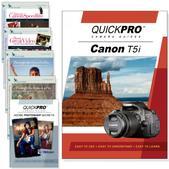Canon T5i 6PK DVDs Advanced Techniques and Core Training Bundle
