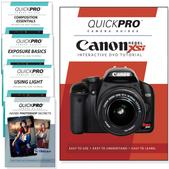 Canon Xsi DVD 5 Pack Intermediate Plus Instructional Bundle