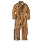 Carhartt Flame-Resistant Duck Coverall - Quilt Lined