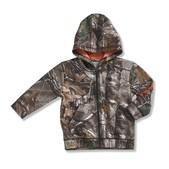 Carhartt Infant and Toddler Boys' Camo Zip Front Sweatshirt