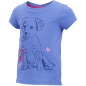 Carhartt Infant and Toddler Girls' Puppy Love Tee