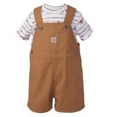 Carhartt Infant Boys' Carhartt Shortall Set