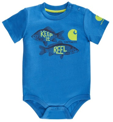 Carhartt Infant Boys' Keep It Reel Bodyshirt