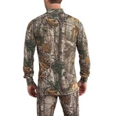 Carhartt Men's Base Force Extremes Cold Weather Camo Quarter Zip