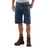 Carhartt Men's Five-Pocket Denim Short - 10.5 Inch Inseam Discontinued Pricing