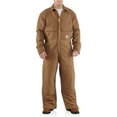 Carhartt Men's Flame-Resistant Duck Coverall - Quilt Lined