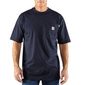 Carhartt Men's Flame-Resistant Force Cotton Short Sleeve T-Shirt