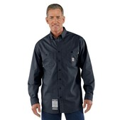 Carhartt Men's Flame-Resistant Lightweight Twill Tradesman Shirt