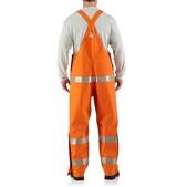 Carhartt Men's Flame-Resistant Rainwear Bib
