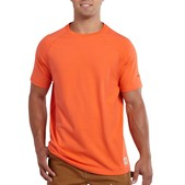 Carhartt Men's Force Cotton Delmont Non-Pocket Short-Sleeve T-Shirt - Discontinued Pricing