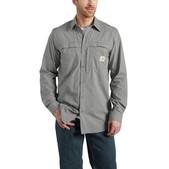 Carhartt Men's Force Mandan Solid Long-Sleeve Woven