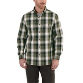 Carhartt Men's Fort Plaid Long-Sleeve Shirt