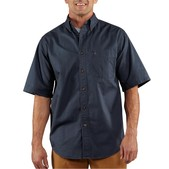 Carhartt Men's Hines Solid Short Sleeve Shirt - Discontinued Pricing