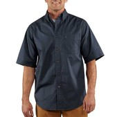 Carhartt Men's Hines Solid Short Sleeve Shirt