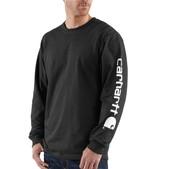 Carhartt Men's Signature Sleeve Graphic Long-Sleeve T-Shirt