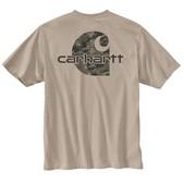 Carhartt Men's Workwear Graphic Digi Camo Short Sleeve T-Shirt