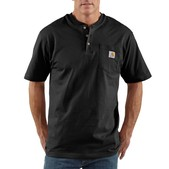 Carhartt Men's Workwear Pocket Short-Sleeve Henley - Discontinued Pricing