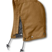 Carhartt Sandstone Hood/Midweight Polyester Lined - Discontinued Pricing