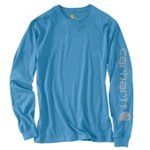 Carhartt Signature Sleeve Graphic Long-Sleeve T-Shirt - Discontinued Pricing