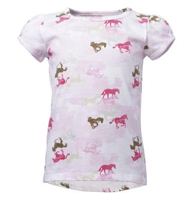 Carhartt Toddler Girls' Camo Horse Printed Tee