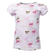 Carhartt Toddler Girls' Camo Horse Printed Tee