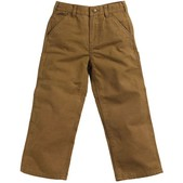 Carhartt Washed Duck Dungaree Pants for Youth Boys
